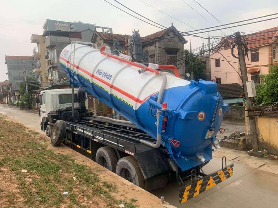 Thông tắc cống tại khu đô thị Nam An Khánh