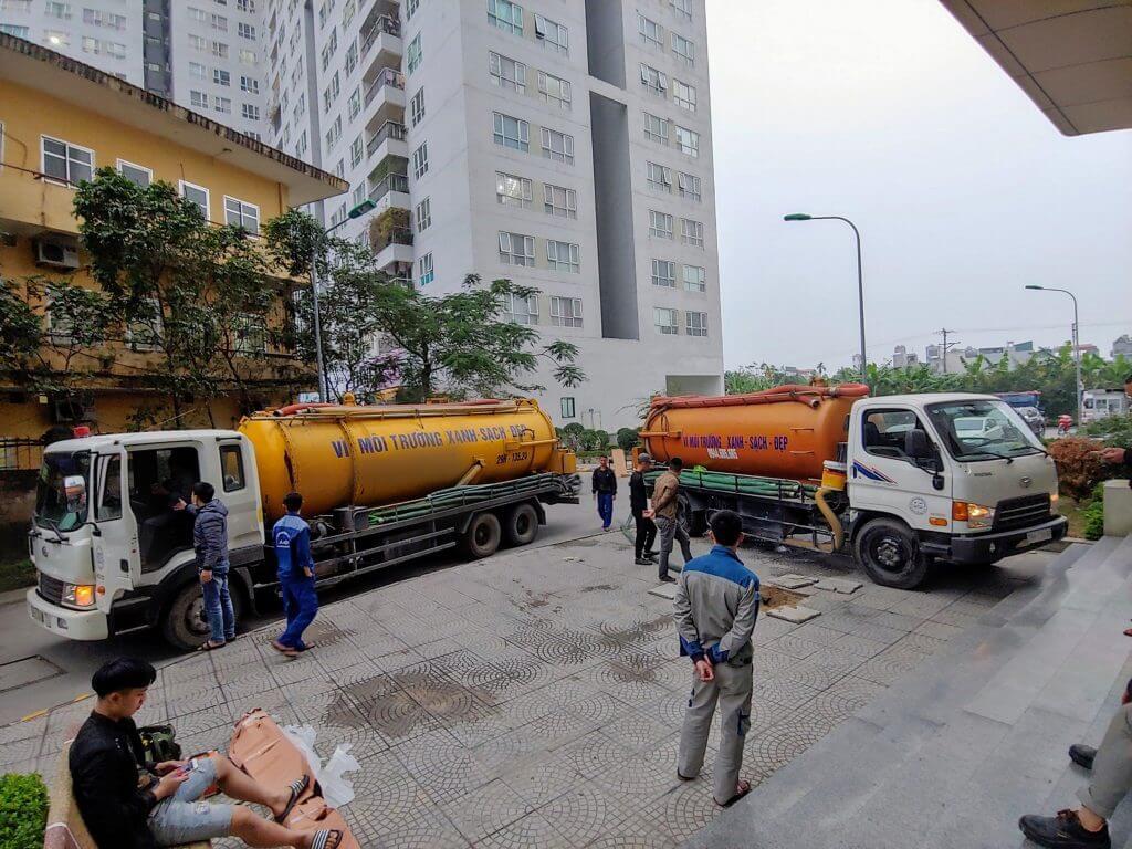 Thông tắc cống tại Chung cư Hà Đông: The K Park